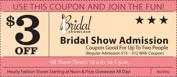 California bridal and wedding shows